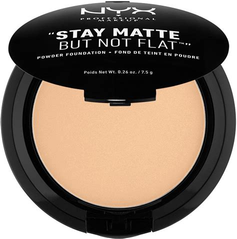 Bedak Nyx Stay Matte nyx professional makeup stay matte but not flat foundation
