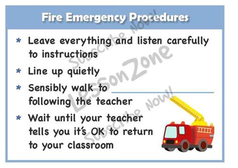 emergency procedures template nz lesson zone nz keeping safe