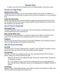 Sle College Narrative Essay descriptive essay sle