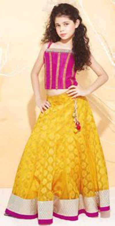 Baju Anak Blue Stitch Bololokids sharara lehenga choli 2015 indian