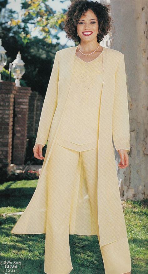 Chiffon ladies trouser suits 6 trendyoutlook com
