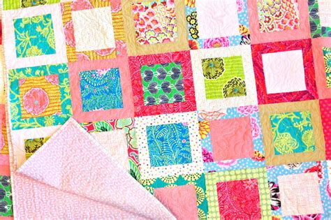 quilt pattern square in a square simple square in a square block favequilts com