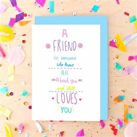 Card Quotes For Friends