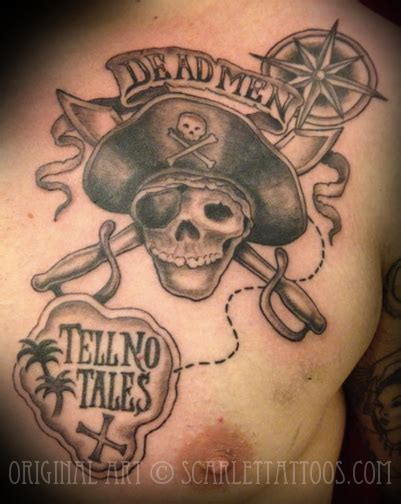 pirates of the caribbean tattoos scarlet tattoos la nyc