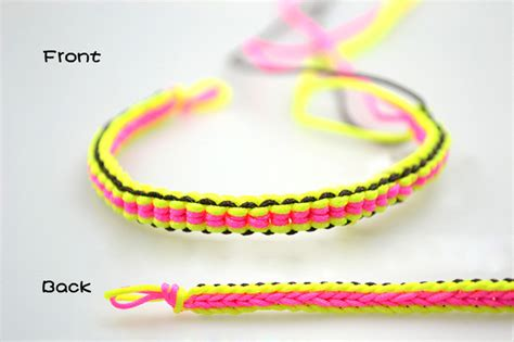 How To Make A String - how to make diy 6 string braided friendship bracelet