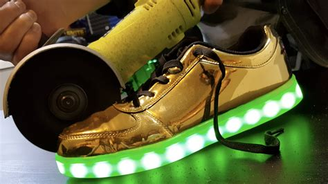with light inside what s inside led shoes