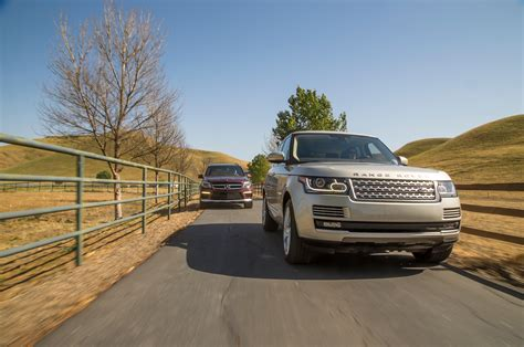 mercedes land rover 2013 range rover supercharged vs mercedes benz gl63 amg