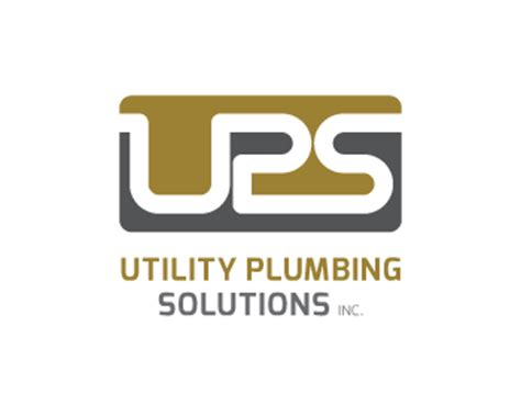 utility plumbing solutions inc logo design contest loghi