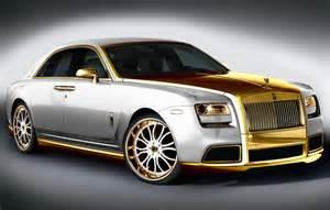Gold Rolls Royce Phantom Golden Rolls Royce Ghost By Fenice