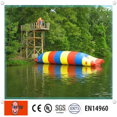 lake toys for adults inflatable lake toys floating water pillow water blob for