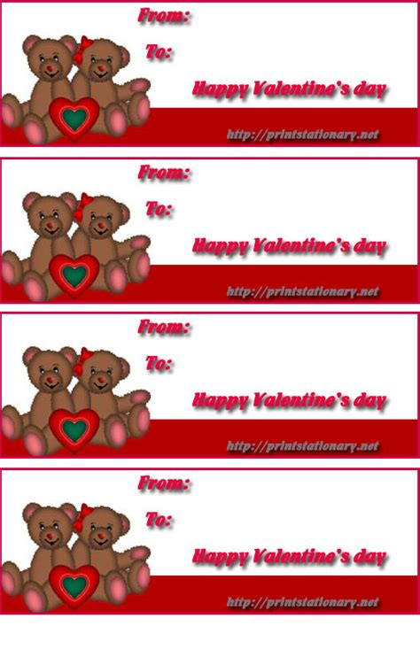 free valentine s day labels valentine s day gift ideas