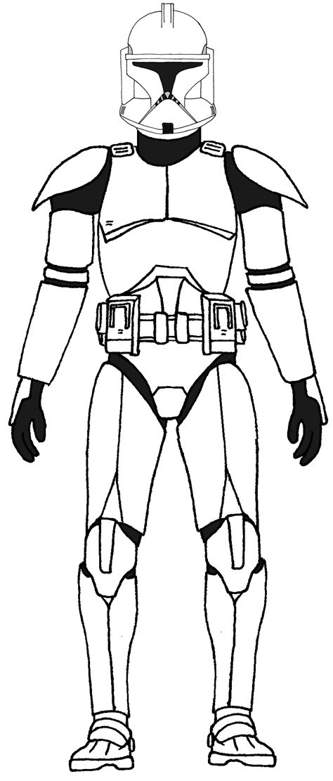 14 clone trooper coloring pages print color craft