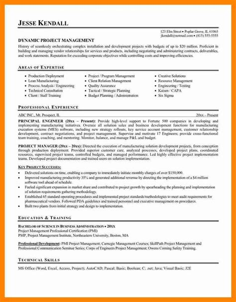 Summary Section Of Resume Exle by Best 25 Project Manager Resume Ideas On Project Management Courses Project
