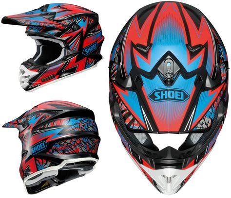 shoei helmets motocross shoei vfx w motocross mx helmet maelstrom tc 1