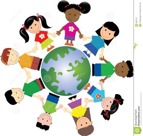 clipart mondo bambini 1 mondo immagini stock libere da diritti