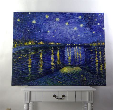 Handmade Painting Reproductions - handmade painting reproduction starry the