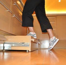 Toe Kick Pull Out Step Stool by Build Your House Yourself Byhyu Build Your
