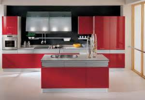 Red White Kitchen Ideas