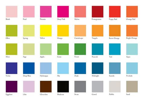wedding color swatches clothing colors for fair skin with brown or