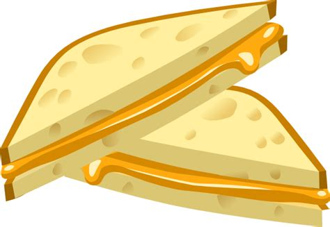 Grilled Cheese Sandwich Clipart grilled cheese clip at clker vector clip royalty free domain