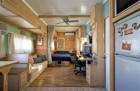 Room Design Program truck converted to a solar powered house on wheels