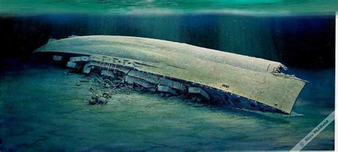 german u boats south africa royal oak oil painting wreck of the royal oak oil on
