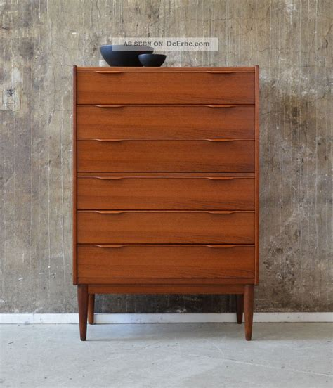 kommode 60er 60er teak kommode highboard design 60s cabinet