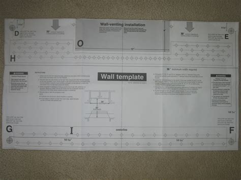 Whirlpool Microwave Mounting Bracket Bestmicrowave Me18h704sfs Installation Template