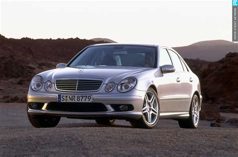 e55 mercedes amg 2003 2006 mercedes e55 amg buying a living legend