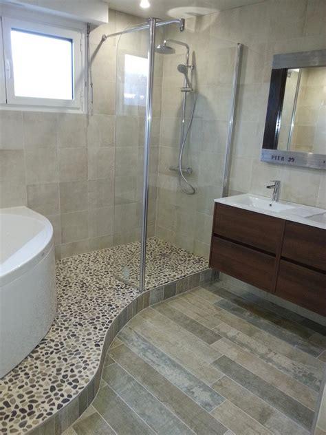 salle de bains avec italienne salle de bain galet avec salle de bain salle de