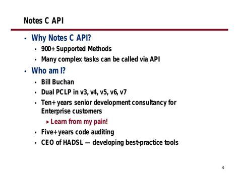 Lotus Notes C Api Documentation
