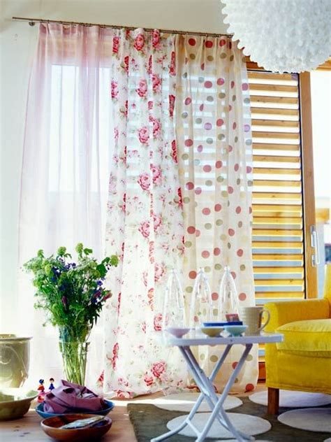 layering curtains with sheer home decorating ideas home improvement cleaning