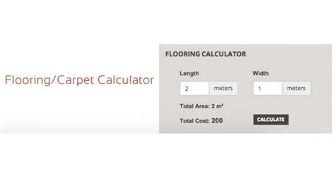 opencart flooring carpet calculator