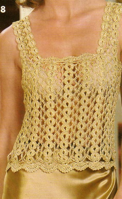 blusa vermelha de crochet crochet clothing pinterest como tejer cadenas para blusa dorada a crochet paso 1