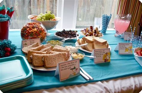 party food dr suess party food ideas