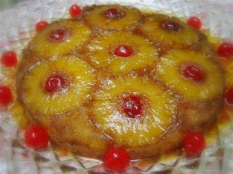 70 S Fads by Virtual 40 S 70 S Party Pineapple Upside Down Cake