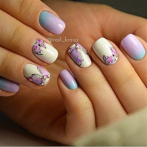 easy nail art butterfly simple butterfly nail art designs styles outfits nail