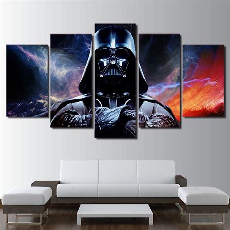 star wars home decor 20 star wars home decor ideas hd printed 5 piece canvas art star wars painting star wars