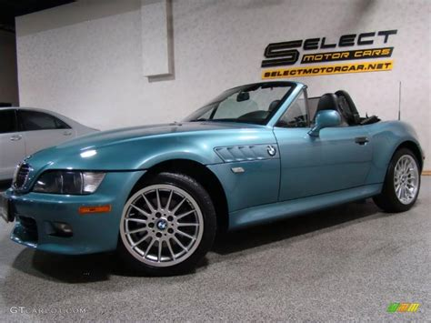 2001 atlanta blue metallic bmw z3 3 0i roadster 35054609 gtcarlot car color galleries