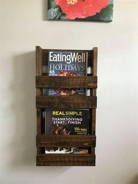 rustic home decor magazines 17 best ideas about rustic magazine racks on pinterest