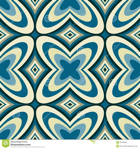 abstract seamless pattern retro wallpaper abstract seamless pattern stock vector