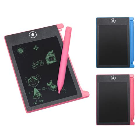 Did You See On Glosscomfree Shipping 4 Mini B 3 by 4 4 Mini Lcd Writing Tablet Erase Drawing Tablet