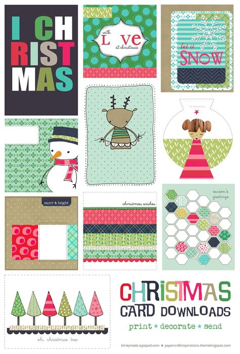 manificent decoration printable christmas cards to color free