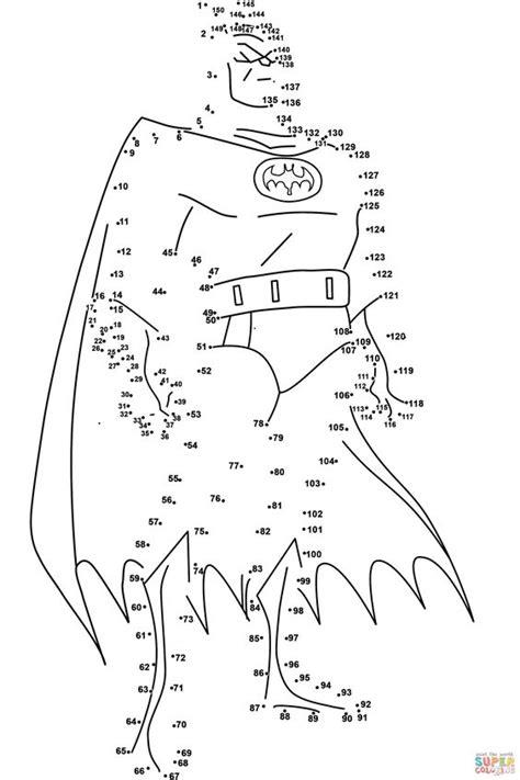 printable batman maze adult dot to dot printable easy batman dot to dot online