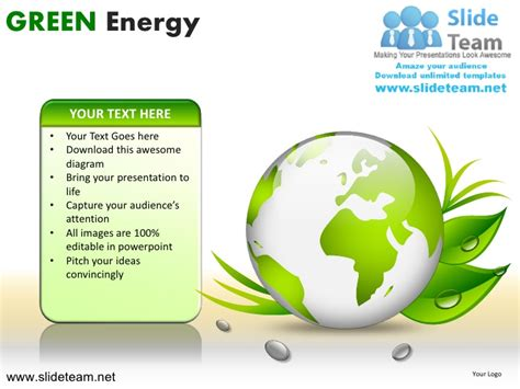 green energy powerpoint template green energy powerpoint ppt slides