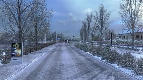 frosty winter weather mod v 6 1 ets 2 mods