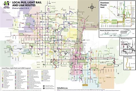 phoenix light rail schedule valley metro light rail system map decoratingspecial com
