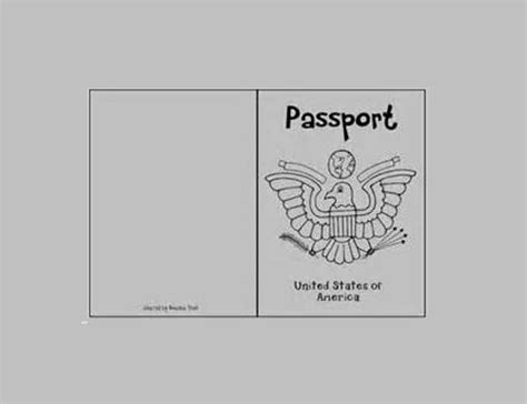 passport template for printable passport templates free premium templates creative