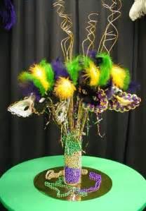 centerpiece mardi gras ideas
