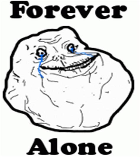 Forever Alone Meme Face